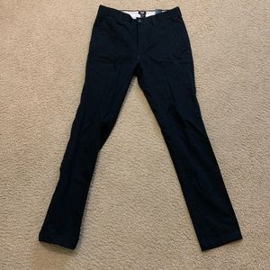 H&M skinny blue dress pants (waist: 30)